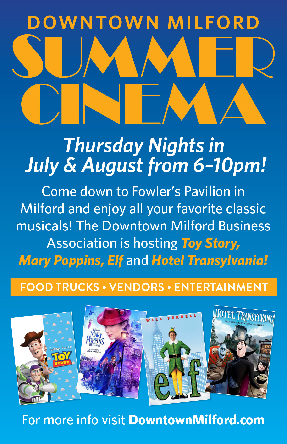 Downtown Summer Movie Night – Mary Poppins Returns